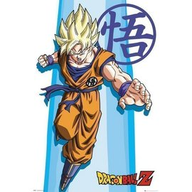 POSTER DRAGON BALL Z SS GOKU