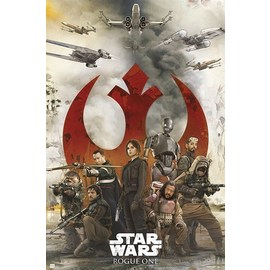 POSTER ROGUE ONE REBELS