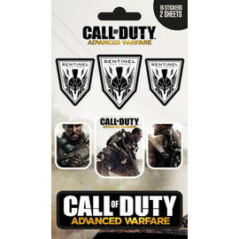 PACK STICKERS VINILO CALL OF DUTY ADVANCED WARFARE SE