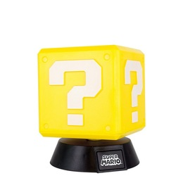 LAMPARA 3D SUPER MARIO QUESTION BLOCK