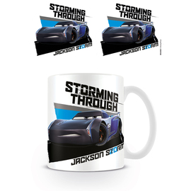 TAZA DISNEY CARS 3 STORMING THROUGH