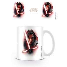 TAZA STAR WARS THE LAST JEDI KYLO REN BRUSHSTROKE