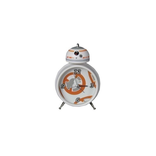 RELOJ DESPERTADOR STAR WARS BB 8