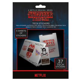 GADGET DECALS STRANGER THINGS
