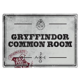 CHAPA METALICA HARRY POTTER COMMON ROOM