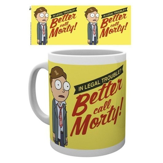 TAZA RICK & MORTY BETTER CALL MORTY