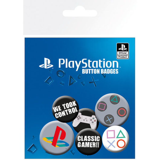 PACK CHAPAS PLAYSTATION CLASSIC