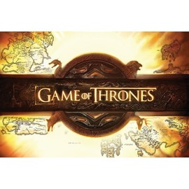 POSTER GAME OF THRONES LOGO