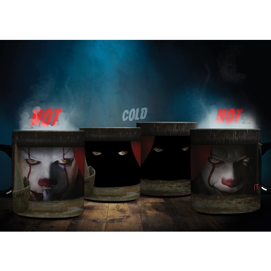 TAZA TERMOCOLORA IT PENNYWISE