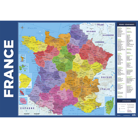 VADE ESCOLAR CARTE DE FRANCE 2017