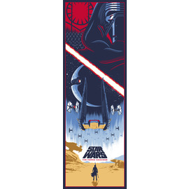 POSTER PUERTA STAR WARS EPISODIO VII