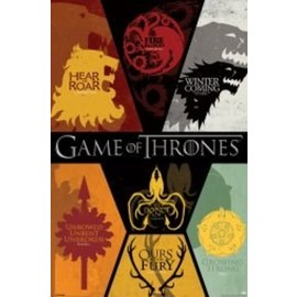 POSTER GAME OF THRONES SIGILS