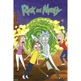 POSTER RICK AND MORTY PORTAL