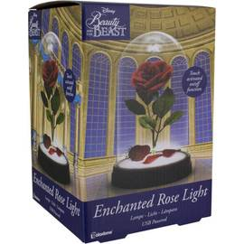 LAMPARA DISNEY LA BELLA Y LA BESTIA ENCHANTED ROSE