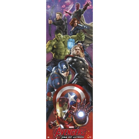 POSTER PUERTA MARVEL AVENGERS AGE OF ULTRON