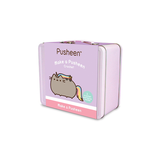 MALETIN METALICO KIT CROCHET PUSHEEN