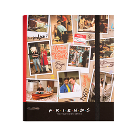 CARPETA 4 ANILLAS TROQUELADA PREMIUM FRIENDS