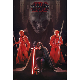 POSTER STAR WARS VIII SNOKE LEADER