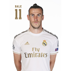 POSTAL REAL MADRID 2019/2020 BALE BUSTO