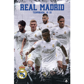 POSTER REAL MADRID 2019/2020 GRUPO