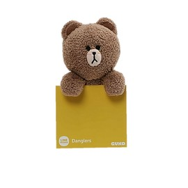 PELUCHE BROWN DANGLER 6