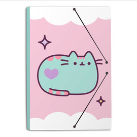 CARPETA GOMAS A4 POLIPROPILENO PUSHEEN THE CAT 2