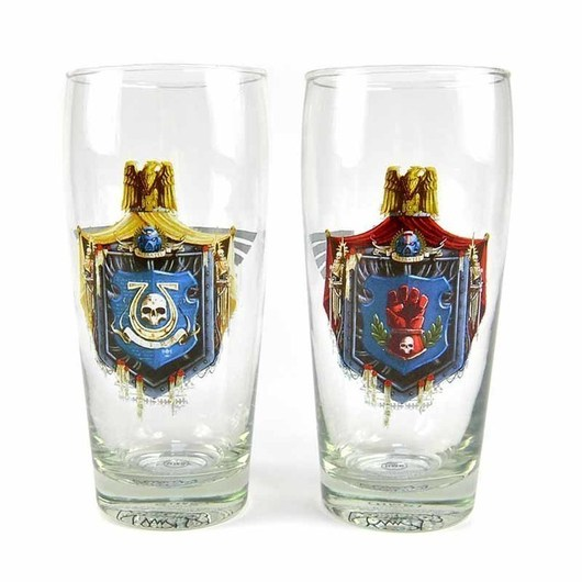 VASOS SET DE 2 WARHAMMER CHAPTER