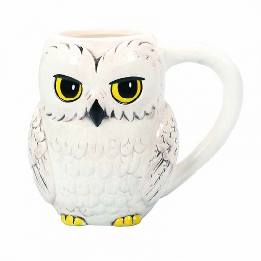 TAZA 3D RELIEVE HARRY POTTER HEDWIG