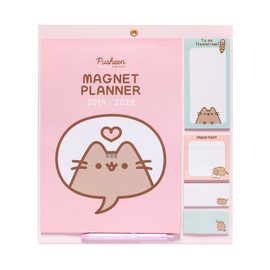 MAGNET PLANNER 2019/2020 PUSHEEN ROSE COLLECTION
