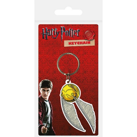 LLAVERO HARRY POTTER SNITCH CARDED