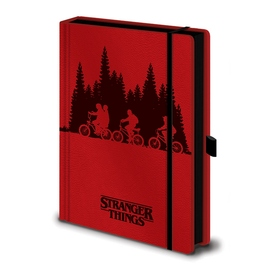 CUADERNO A5 PREMIUM STRANGER THINGS UPSIDE DOWN