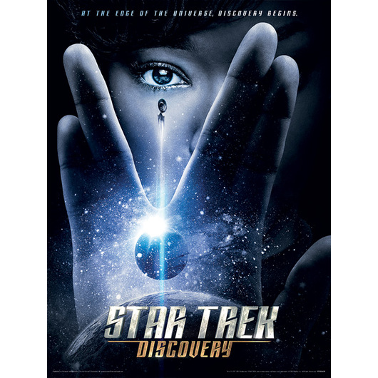 ART PRINT 30X40 STAR TREK DISCOVERY INTERNATIONAL ONE SHEET