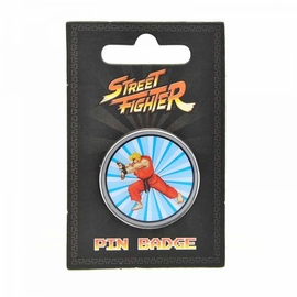 PIN STREET FIGHTER KEN
