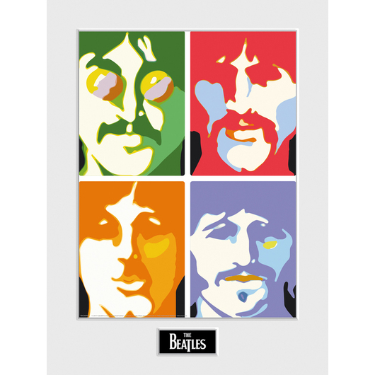 ART PRINT 30X40 THE BEATLES SEA OF SCIENCE