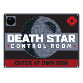 CHAPA METALICA STAR WARS DEATH STAR