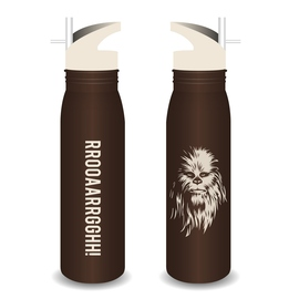 BOTELLA METALICA STAR WARS CHEWBACCA
