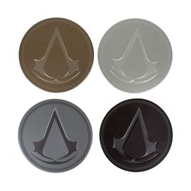 POSAVASOS METAL  ASSASSINS CREED