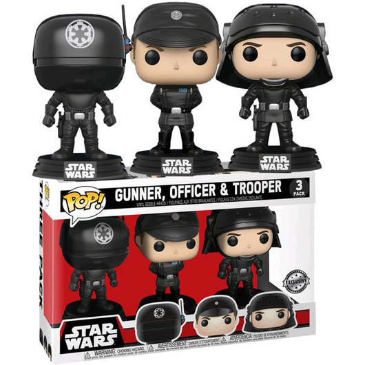 POP VINYL STAR WARS 3 PACK DEATH STAR