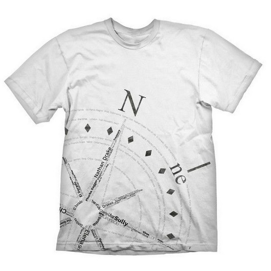 CAMISETA UNCHARTED 4 COMPASS M