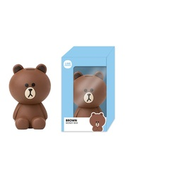 HUCHA 3D LINE FRIENDS BROWN