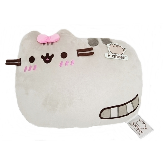COJIN PUSHEEN LAYING DOWN EMBARRASSED