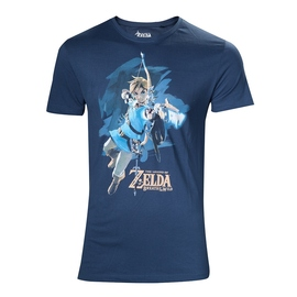 CAMISETA THE LEGEND OF ZELDA BREATH OF THE WILD LINK BOW XL