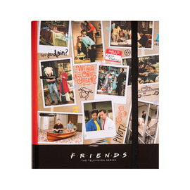 CARPETA 2 ANILLAS TROQUELADA PREMIUM FRIENDS