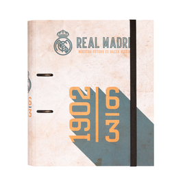 CARPETA 2 ANILLAS TROQUELADA PREMIUM REAL MADRID VINTAGE COLLECTION
