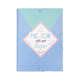CARPETA SOLAPAS AMELIE PASTEL COLLECTION
