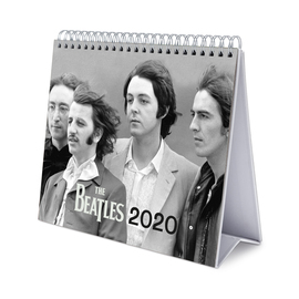 CALENDARIO DE ESCRITORIO DELUXE 2020 THE BEATLES