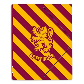 CARPETA GOMAS A4 POLIPROPILENO HARRY POTTER GRYFFINDOR