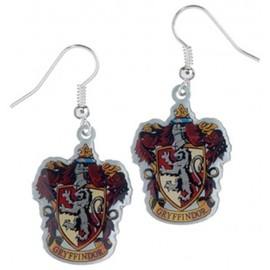 PENDIENTES HARRY POTTER GRYFFINDOR CREST