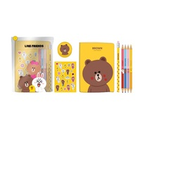 SUPER SET DE PAPELERIA LINE FRIENDS