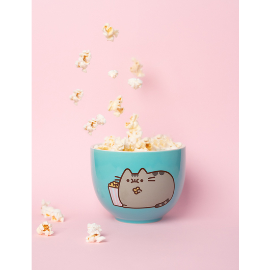 BOWL PUSHEEN GREEN POPCORN